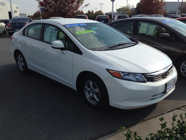Certified Used Honda Civic Natural Gas